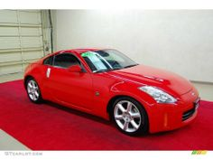 Nogaro Red Nissan 350Z Touring Coupe