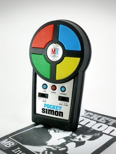 Loved being able to play Simon in the palm of my hands.
