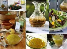 Oblačenje s octom i biljnim uljem Dip Recipes, Sauce Recipes, Cooking Recipes, Healthy Recipes, Vegetable Salad, Saveur, Spice Mixes, Fresh Vegetables, Salad Dressing