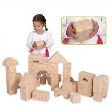 """Edushape Big Wood-Like Blocks 