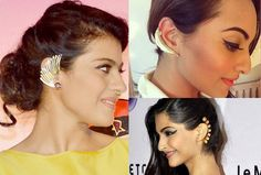 Trendy Alert: How To Wear Ear Cuffs Like A Celebrity - Yahoo Lifestyle India