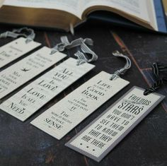 East of India cream bookmarks with fabulous sayings with just the right sentiment - The Alphabet Gift Shop Ltd
