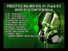 "Freestyle 80s Mix Vol 01 (Mixed By Dj Tony""B""Bonilla)"