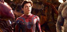 Peter is all of us. | Tom Holland, Spider-Man, Infinity War, Avengers, film, comics, comic books, comic book movies, Marvel comics, 2010s, 10s, 2018