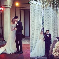 Andy Biersack & Juliet Simms Biersack Wedding.  I'm happy for them but I'm tears at the same time.