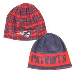 Patriots Reversible Beanie Hat $12.95