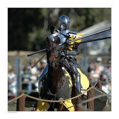 Sir Luke Takes a Heavy Blow by *MarkGreenmantle on deviantART