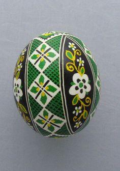 Pysanka, Real Ukrainian Easter Egg Hen Chicken Shell, Geometric Design, E21 | Collectibles, Decorative Collectibles, Eggs | eBay!
