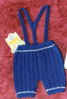 Pantalon batita crochet