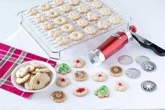 Cinnamon Spritz Cookies Recipe