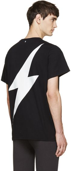 Neil Barrett Black Lightning T-Shirt