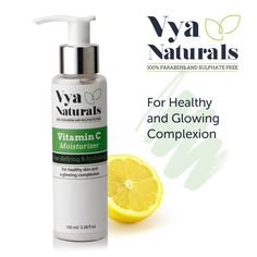 Vya Natural's Vitamin C Moisturizer contains a blend of the best ingredients to deliver unrivaled antioxidant benefits to the face, skin and body.  $15.99  #FREESHIPPING