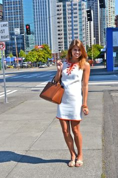 White Shift Dress | Fishbowl Fashion