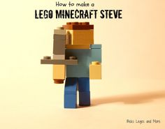 I love minecraft, it's one of my favorite computer games! I was thinking, since I love both legos and minecraft, that it would be fun t...