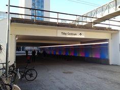 Ny utsmyckning gångtunnel Täby centrum - Täby kommun