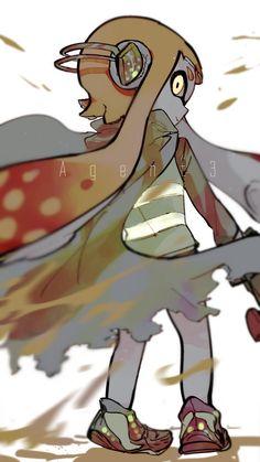 Splatoon Agent 3 by 🐙옥토스포주의뮤트블락추천꽃새🐙 ( Nintendo Splatoon, Splatoon 2 Art, Splatoon Comics, Minions, Pokemon, Fanart, 3 Arts, Cute Characters, Cosplay