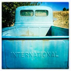 International Pickup Truck Blue Texas IMG_0480 by Dallas Photoworks, via Flickr