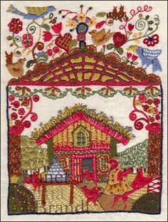 Janet Brandt: New Embroideries