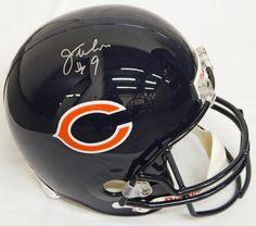 Jim McMahon Signed Chicago Bears Riddell F/S Replica Helmet