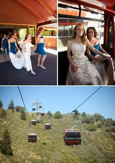 Red Pine Lodge Wedding at the Canyons Resort in Park City, Utah | Wedding Party Photo Idea | Logan Walker Photography