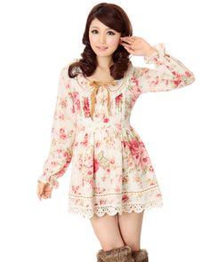 Floral dress. Liz Lisa Dress.