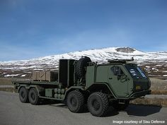 SISU 8x8 Military Truck - Army Technology
