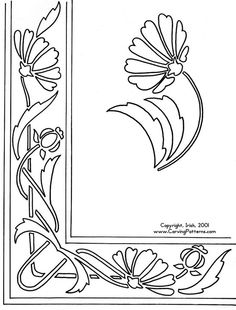 Floral Wood Carving Patterns - Bing Images