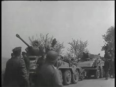 9 May 1945 - 16th American Armored Divison near Pilsen, in western Bohemia in the Czech Republic
