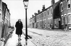 1960s..Looking bewildered and sad, Ethel Kay, the last resident of Cardigan Road, Burley, Leeds 4.. Photo: Yorkshire Post | Source: jsb303 on Flickr