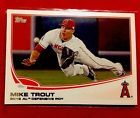 2013 Topps Series 2 Baseball Card # 536 Mike Trout Los Angeles Angels Def. POY