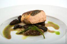 Claude Bosi's dish — at Old Billingsgate  #claudebosi #dinerdesgrandschefs #relaischateaux
