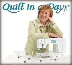 Quilt in a Day tutorials.