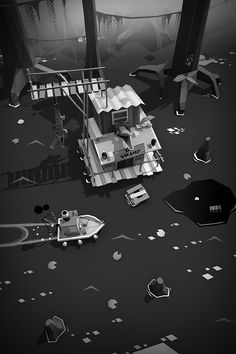 STEAMBOAT Poly   indie game on Behance
