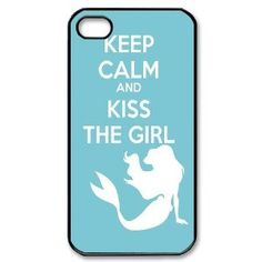Diy Case Little Mermaid Iphone 4/4S Case Hard Case Fits Sprint, T-mobile, AT and Verizon IPhone 4s Case 101512