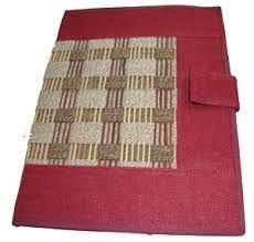 natural jute cloth bag file book bag