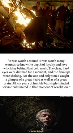 John Watson<--- i remember reading this in the book and just having to stop and think about it for a bit