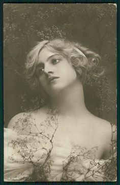 Ivy Lillian Close - Original Vintage 1910s Photo Postcard An | eBay