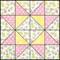 Quilts To Be Stitched - Four patch quilt patterns / sq hst +quilt. +pattern. +patchwork. +block.