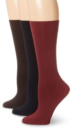 Nine West Women's Solid Opaque 3 Pair... $14.00 #topseller