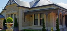 australia farmhouse facade sandstone building cornerstones - Google Search