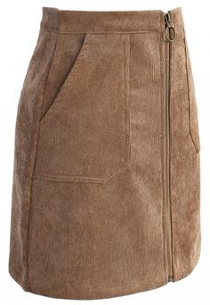 Fashion Devotion Bud Skirt in Tan - New Arrivals - Retro, Indie and Unique Fashion Street Hijab Fashion, Fashion Outfits, Lace Dress Styles, Classy Work Outfits, Tan Skirt, Sewing Pants, Winter Skirt, African Attire, Skirt Outfits