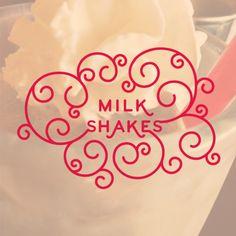 ambersand Tumblr Account, Typography Design, Hand Lettering, Milkshakes, My Love, Tableware, Blog, Dreams, Instagram