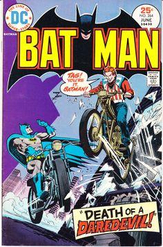Batman 264 DC Comics Denny O'Neil Chan Daredevil Robin Boy Wonder Bronze Age 1975 VF+ by LifeofComics #comicbook