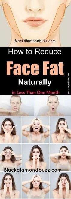 Face Fat Loss Exercises- How to Reduce Face Fat Naturally in Less Than One… - #fitness #motivacion #mujer
