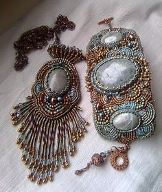 InKetten: Bead Embroidery