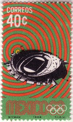SO MUCH PILEUP: Philately Fridays: Mexico, 1968