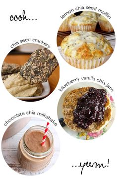Four great chia seed recipes - jam skip the sugar and crackers
