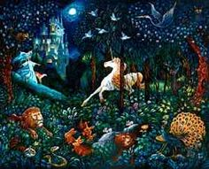 Painted by Bill Bell, the The Unicorn wall mural from Murals Your Way will add a distinctive touch to any room. Choose a pre-set size, or customize to your wall. Murals Your Way, Unicorn Wall Art, Find Art, Custom Framing, Framed Artwork, Wall Murals, Giclee Print, Artist, Psychology