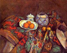 Сезанн. Натюрморт с апельсинами