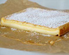 Tassenkuchen - Bäckerei: Magic Custard Cake - Magischer Puddingkuchen mit Vanille